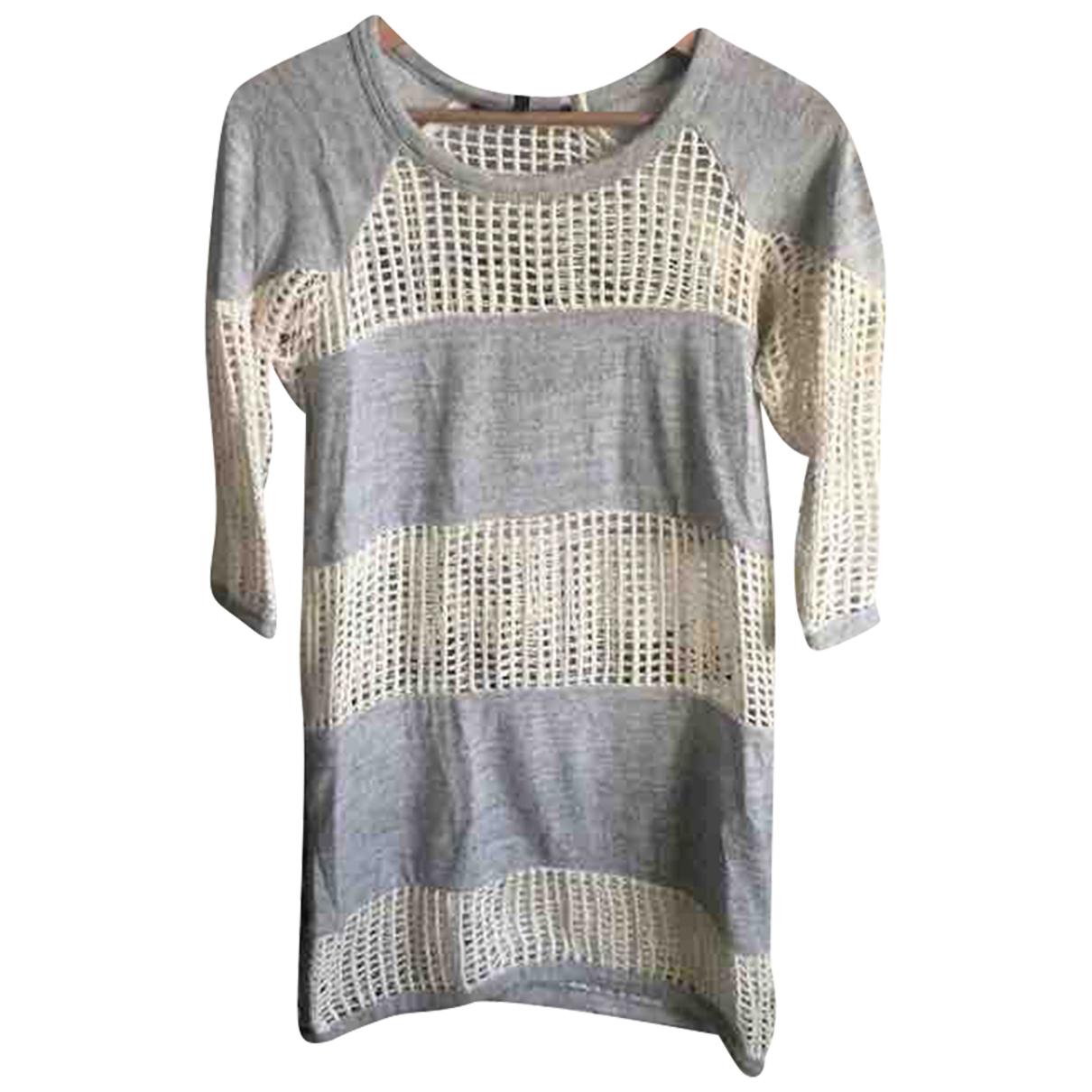 Isabel Marant - Pull   pour femme en coton - gris
