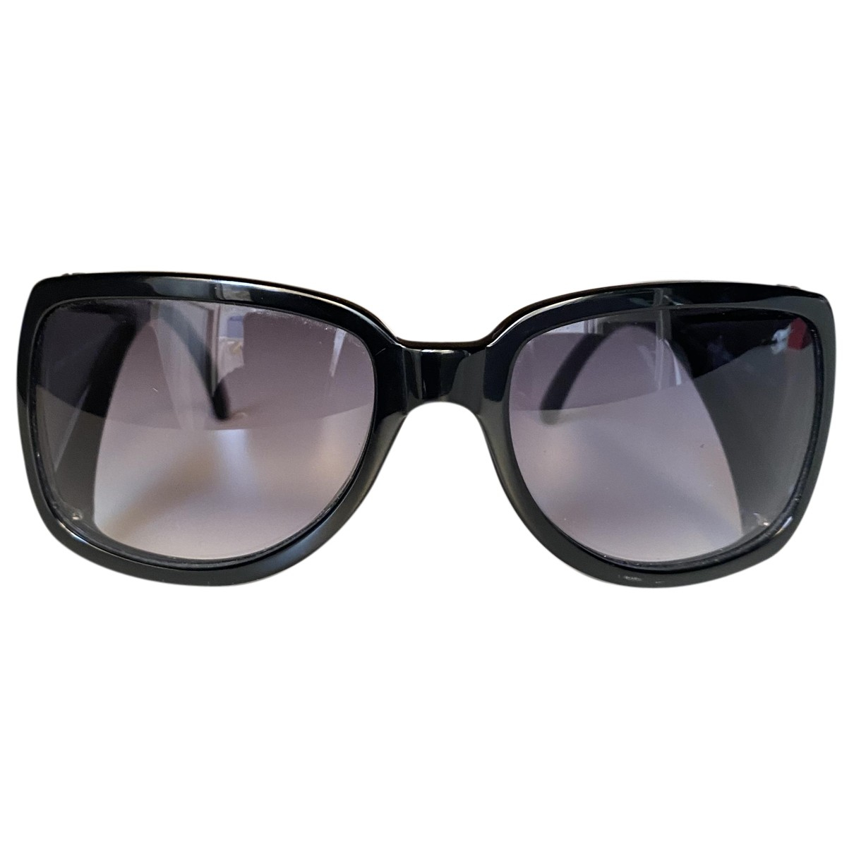 Giorgio Armani N Black Metal Sunglasses for Women N
