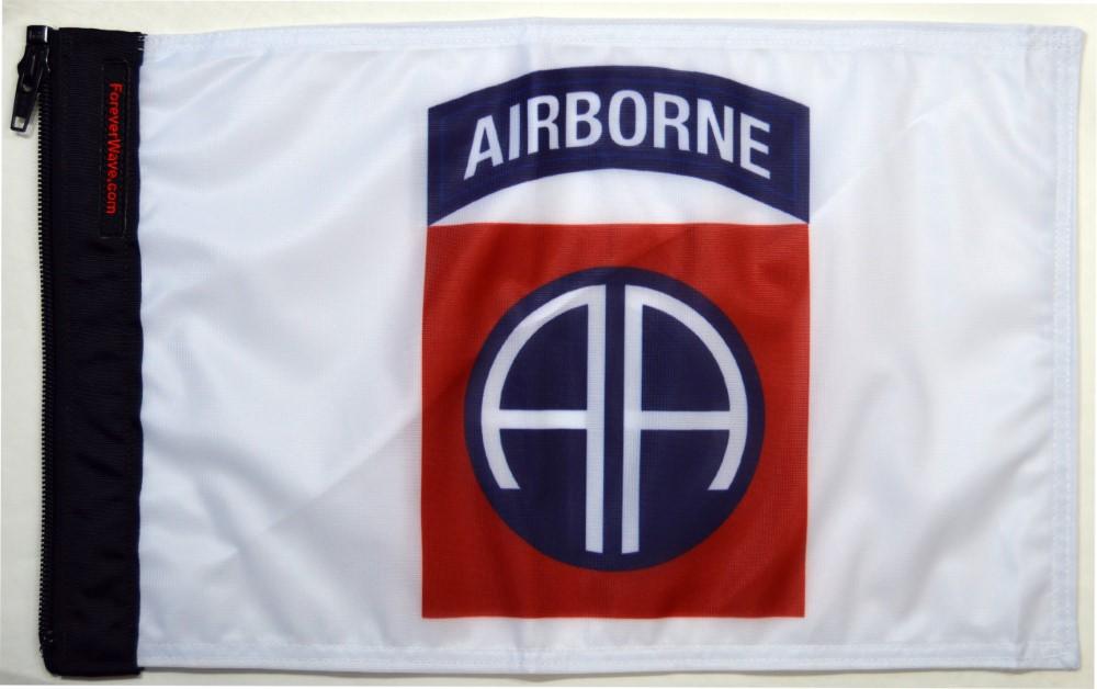 Forever Wave 5455 Airborne 82nd Division Flag