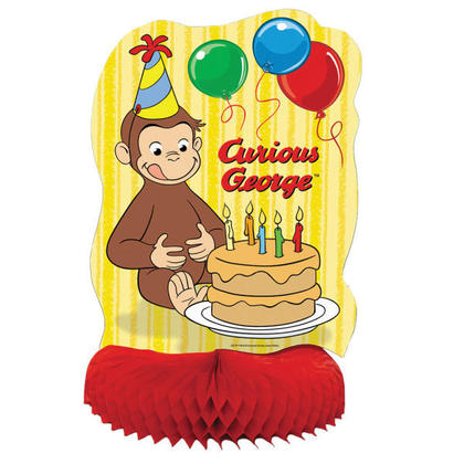 Curious George 1 Centerpiece 14