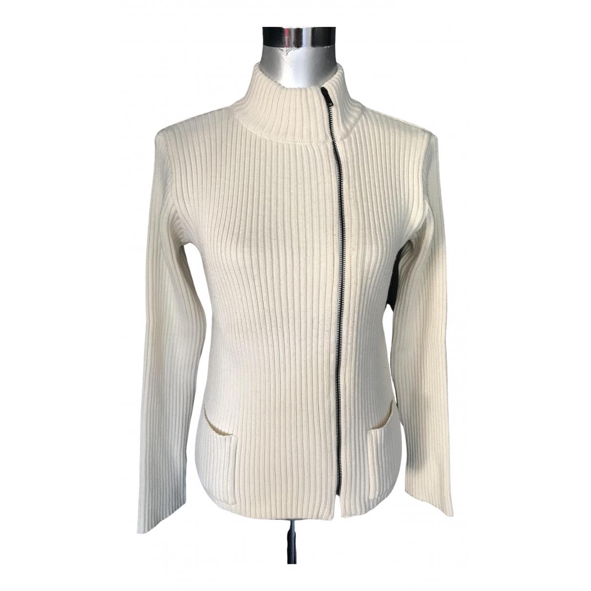 Comptoir Des Cotonniers - Pull   pour femme en laine - ecru