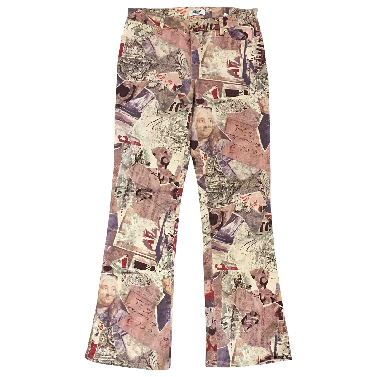 Moschino \N Multicolour Cotton - elasthane Jeans for Women 29 US