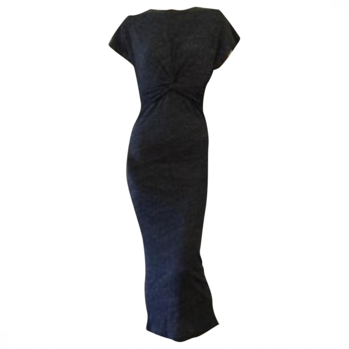 Iro \N Grey Cotton dress for Women S