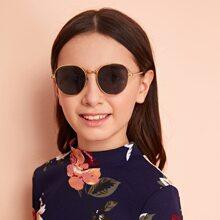 Kids Metal Frame Sunglasses