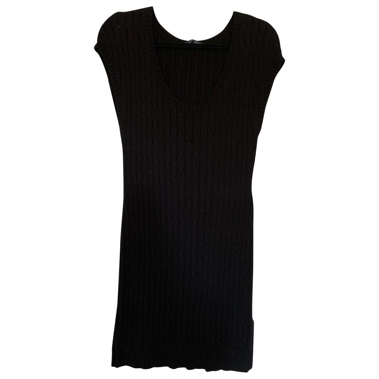 Ralph Lauren \N Black Cotton dress for Women M International