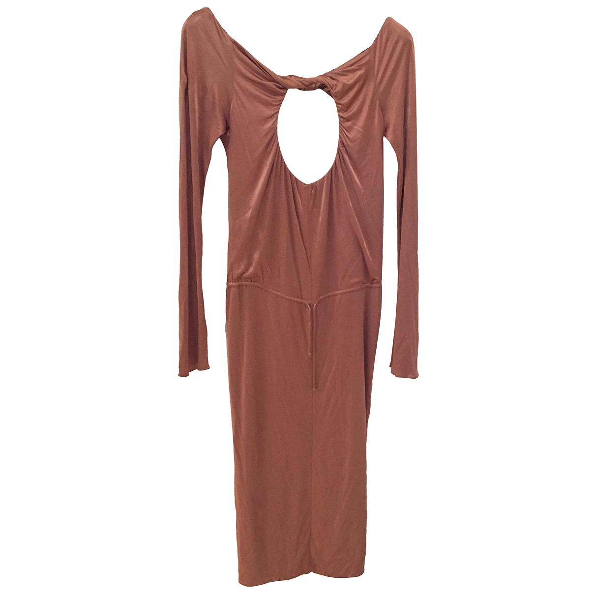 Alexander Mcqueen N Orange dress for Women 40 IT