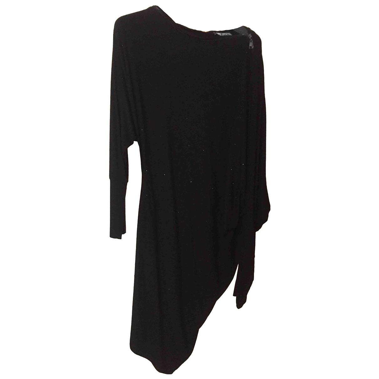 Liu.jo - Robe   pour femme en coton - elasthane - noir