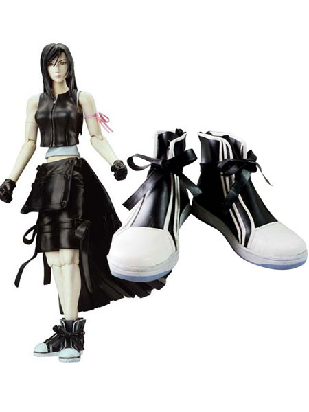 Milanoo Final Fantasy VII Tifa Lockhart Cosplay Boots Halloween