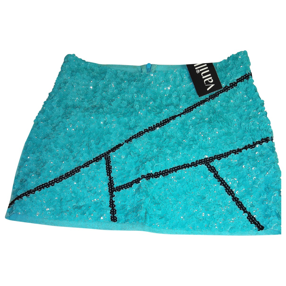 Aje \N Turquoise Cotton skirt for Women 8 UK
