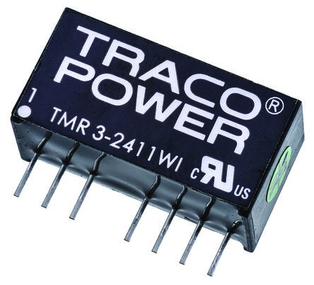 TRACOPOWER TMR 3WI 3W Isolated DC-DC Converter Through Hole, Voltage in 9 → 36 V dc, Voltage out 5V dc