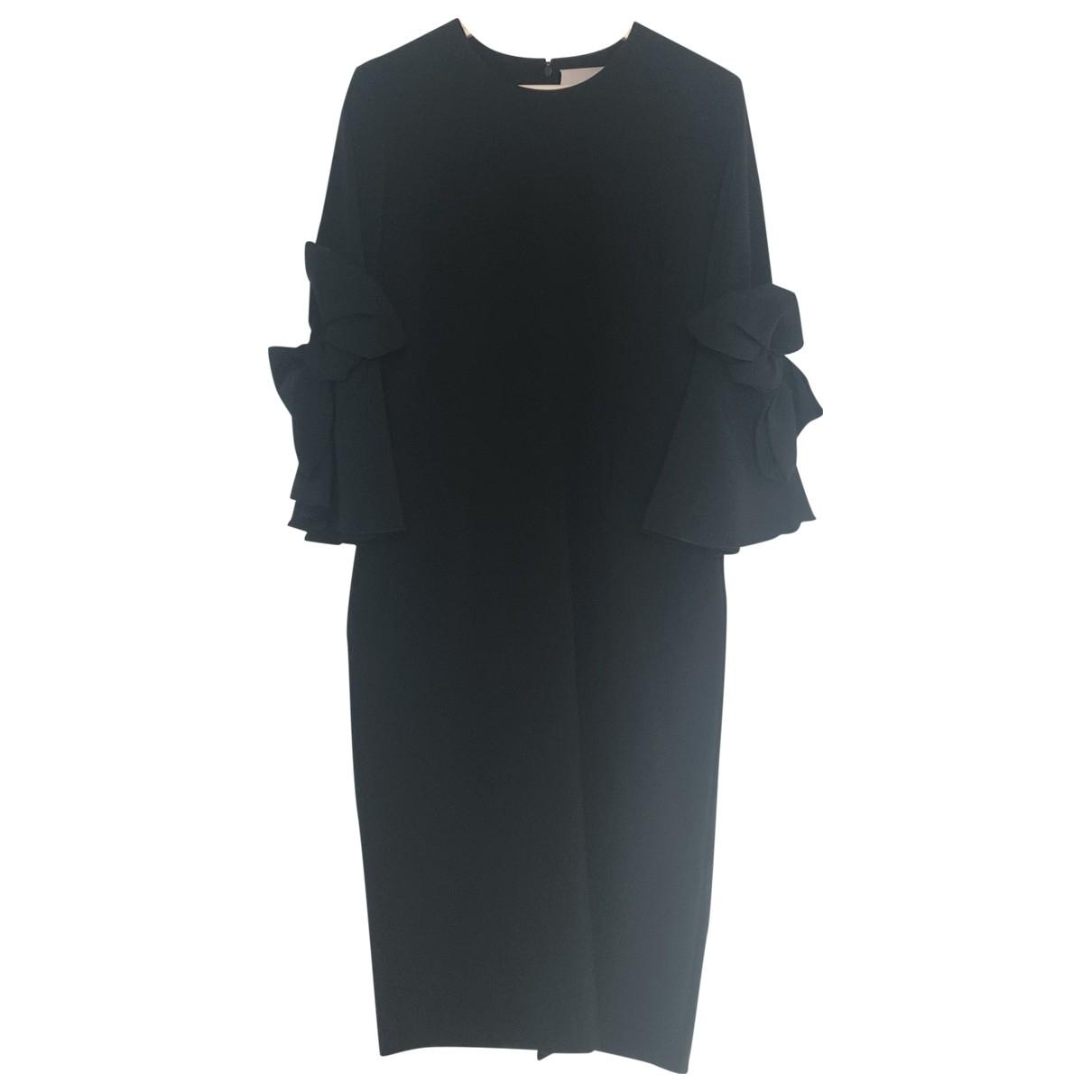 Roksanda \N Kleid in  Schwarz Polyester