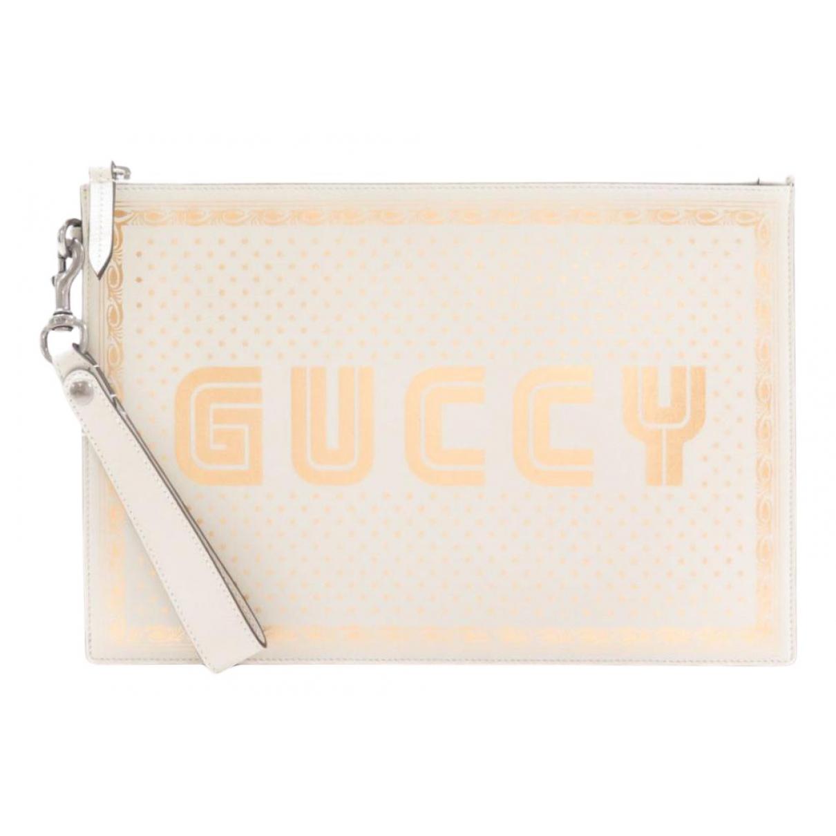 Gucci Guccy clutch Clutch in  Bunt Leder