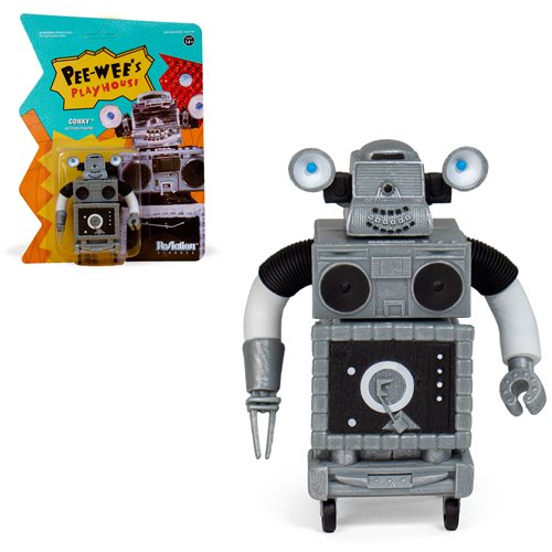 Pee-wee's Playhouse Conky 2000 3 3/4-Inch ReAction Figure