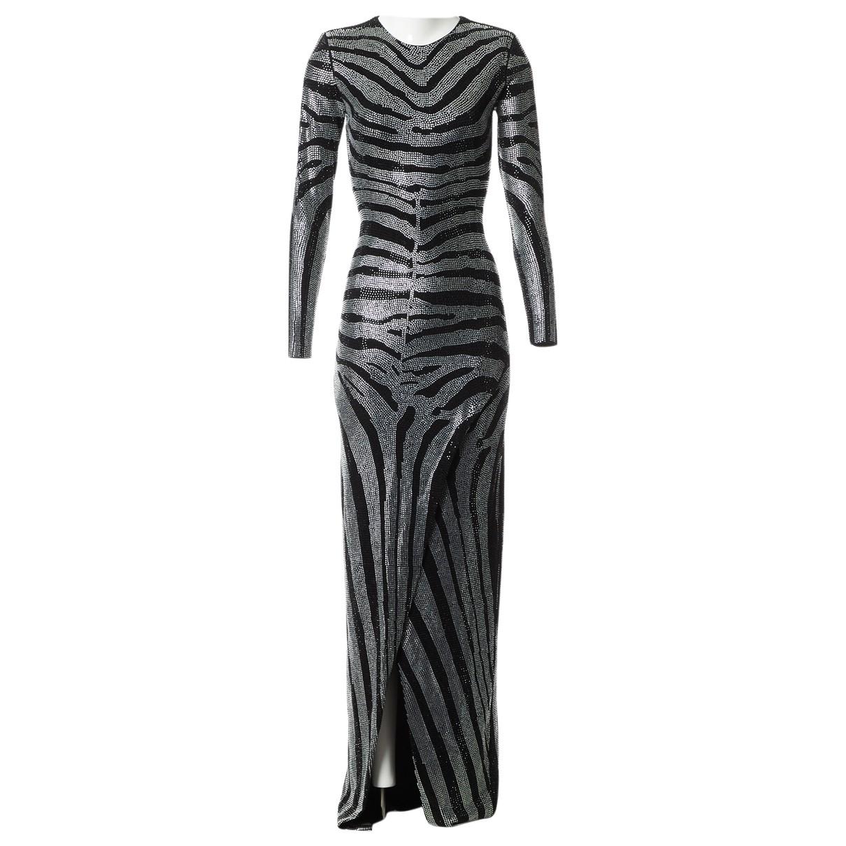 Balmain \N Black dress for Women 36 FR