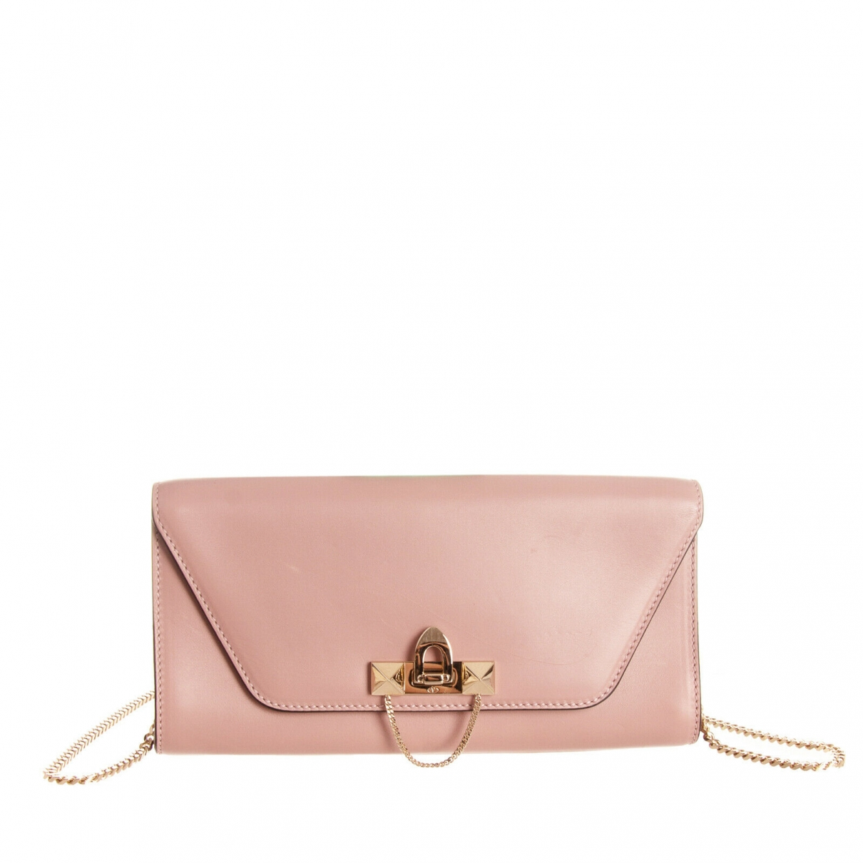 Valentino Garavani Demilune Pink Leather handbag for Women \N