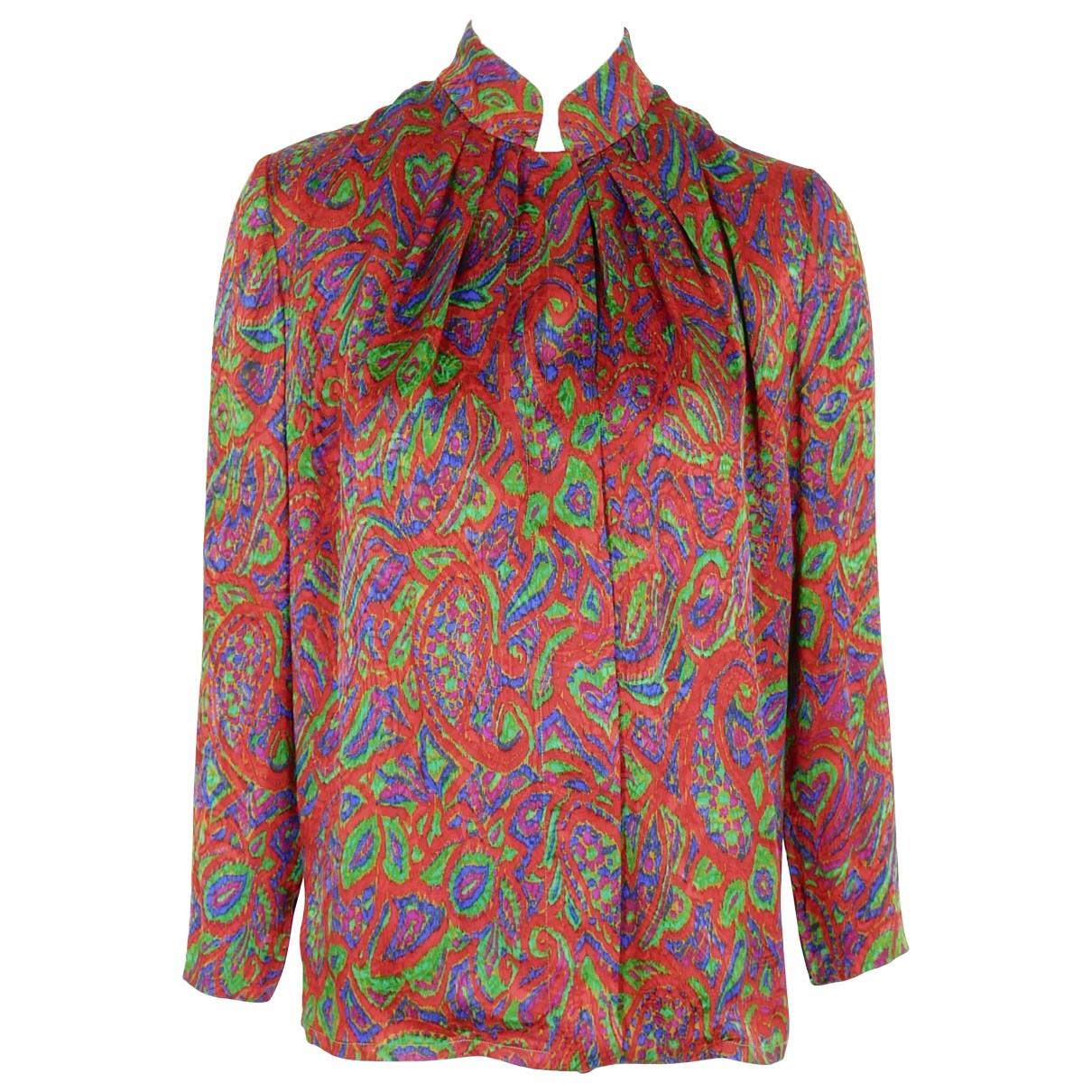 Givenchy \N Multicolour Silk  top for Women 38 FR
