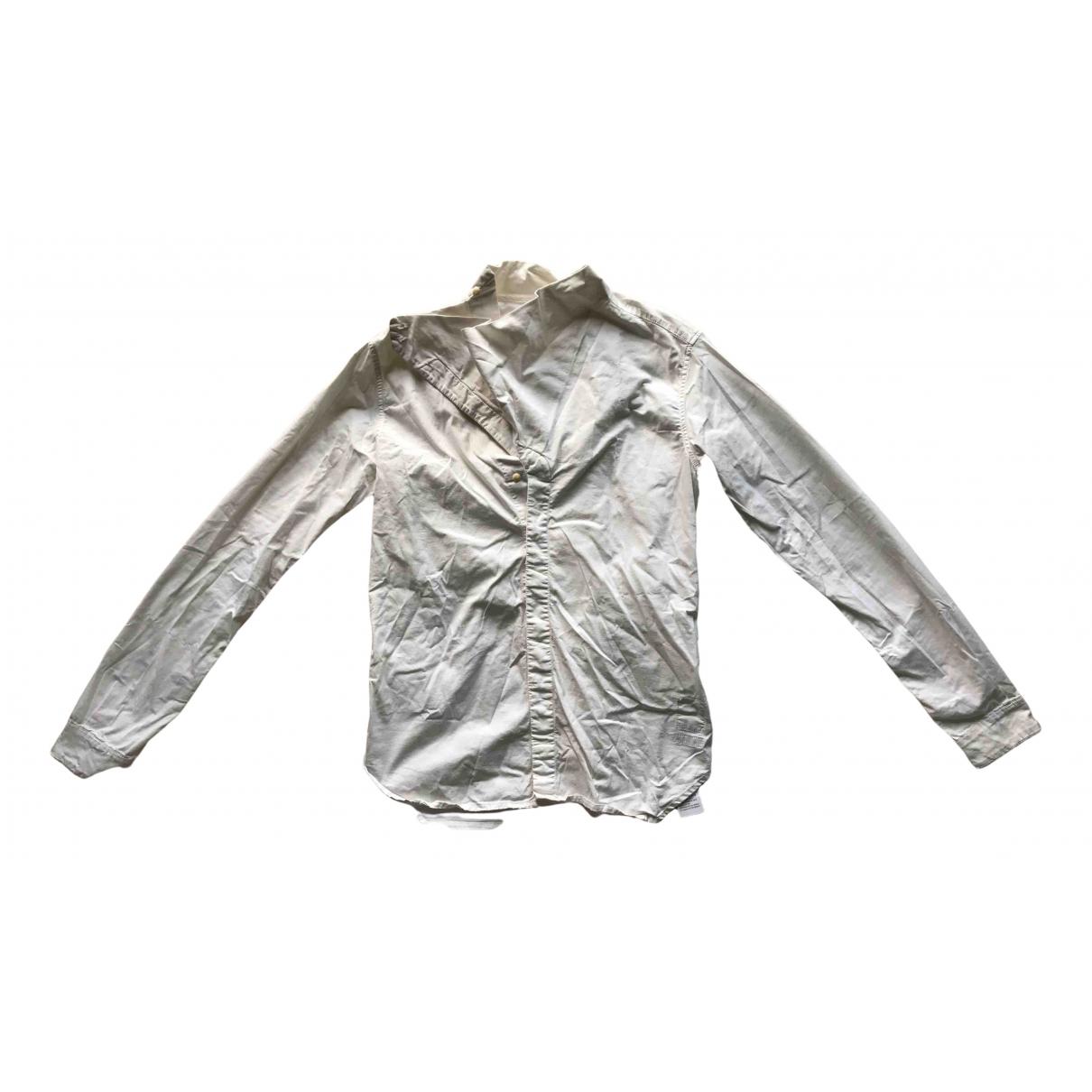 Rick Owens Drkshdw - Chemises   pour homme en coton - blanc