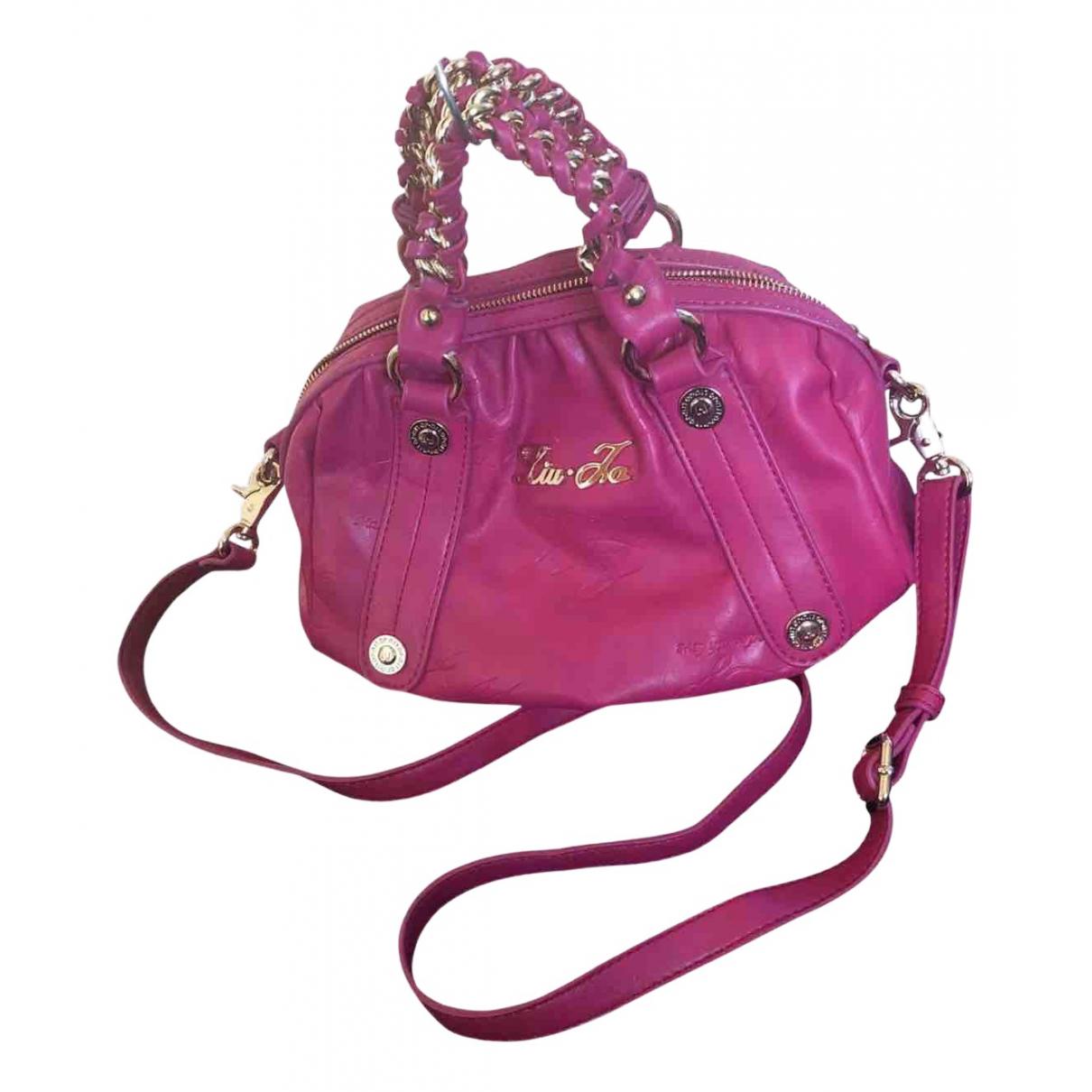 Liu.jo N Pink Leather handbag for Women N