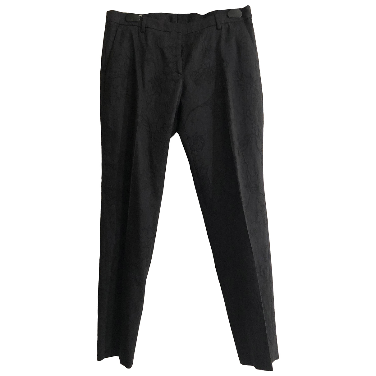 Pantalon recto de Lana Dries Van Noten