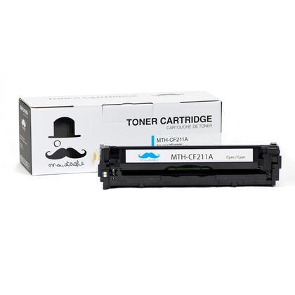 Compatible HP LaserJet Pro 200 Color M276N Cyan Toner Cartridge - Moustache