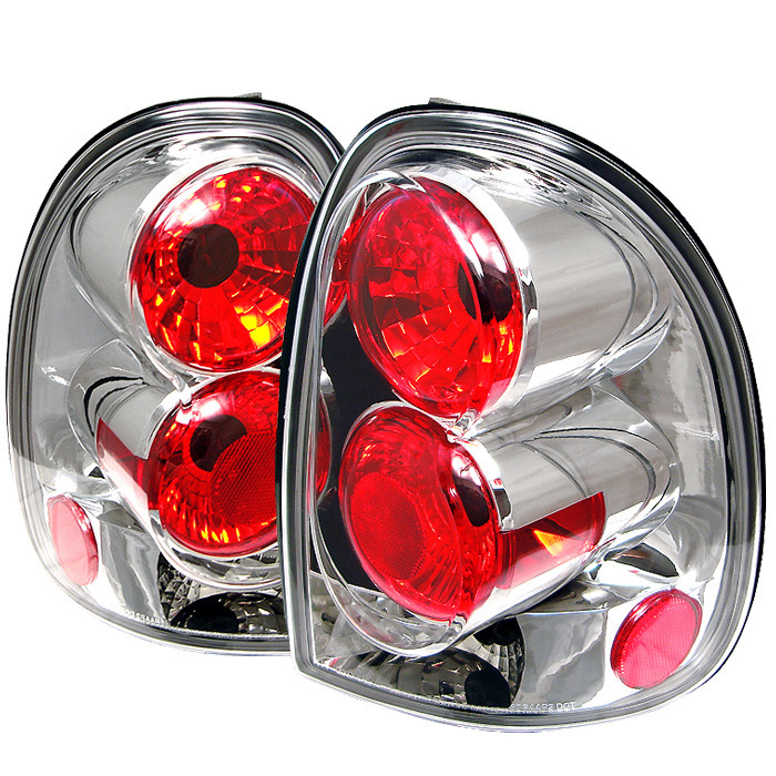 Spyder Auto ALT-YD-DC96-C Chrome Euro Style Taillights Plymouth Voyager | Grand Voyager 96-00