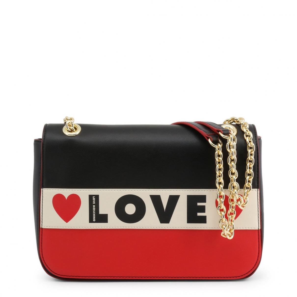 Moschino Love \N Black Cloth Clutch bag for Women \N