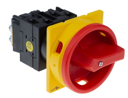 Eaton 3 Pole Panel Mount Changeover Switch - 20 A Maximum Current, 6.5 kW Power Rating, IP65