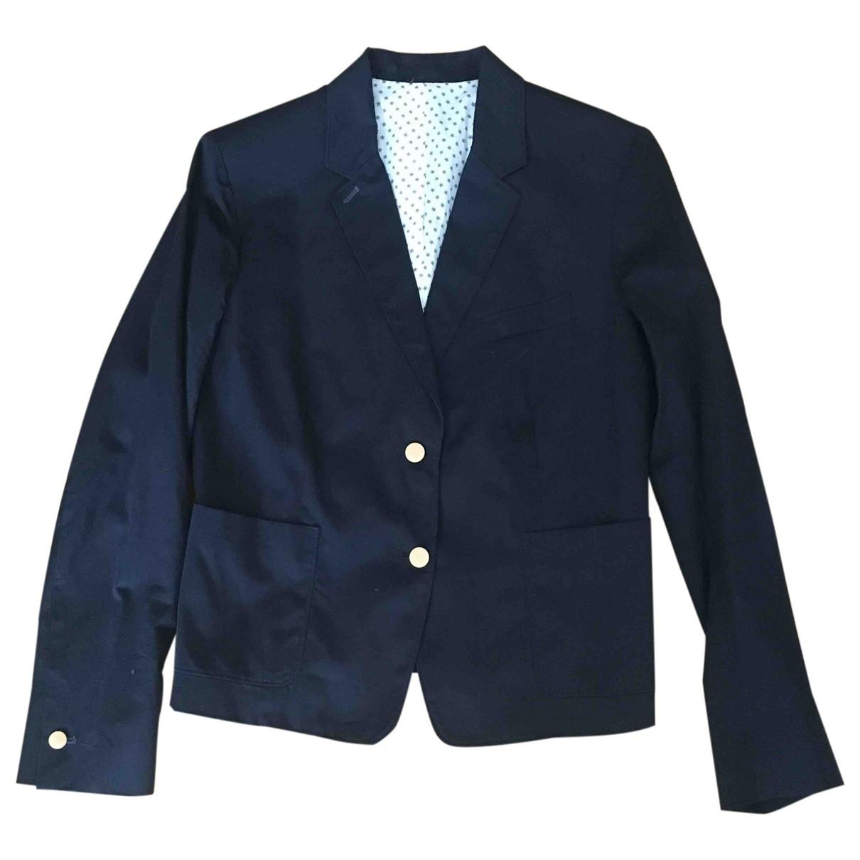 Mauro Grifoni - Veste   pour femme en coton - bleu