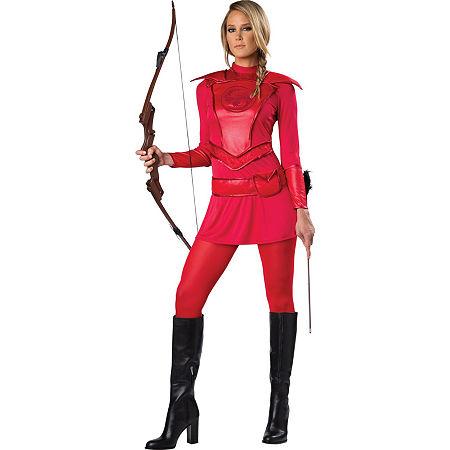 Redwarriorhuntr Womens Costume, Large , Multiple Colors