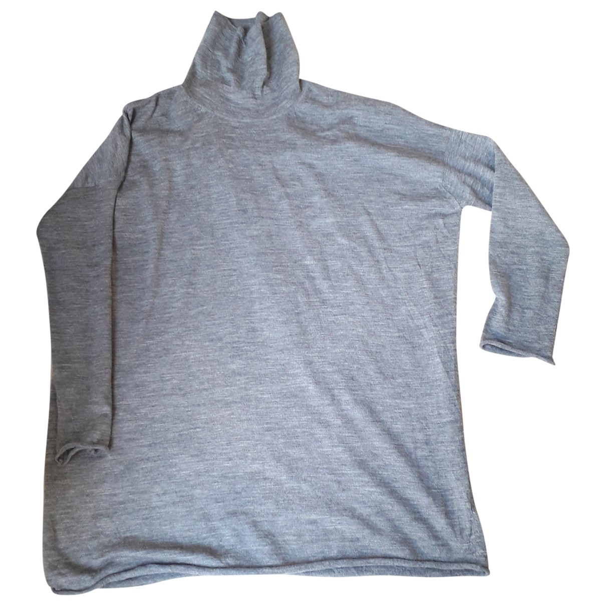 American Vintage - Pull   pour femme en laine - gris