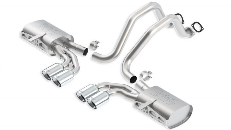 Borla ATAK® Cat-Back™ Exhaust System Chevrolet 5.7L V8