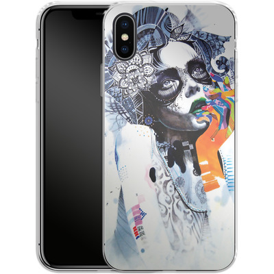 Apple iPhone X Silikon Handyhuelle - The Dream von Minjae Lee