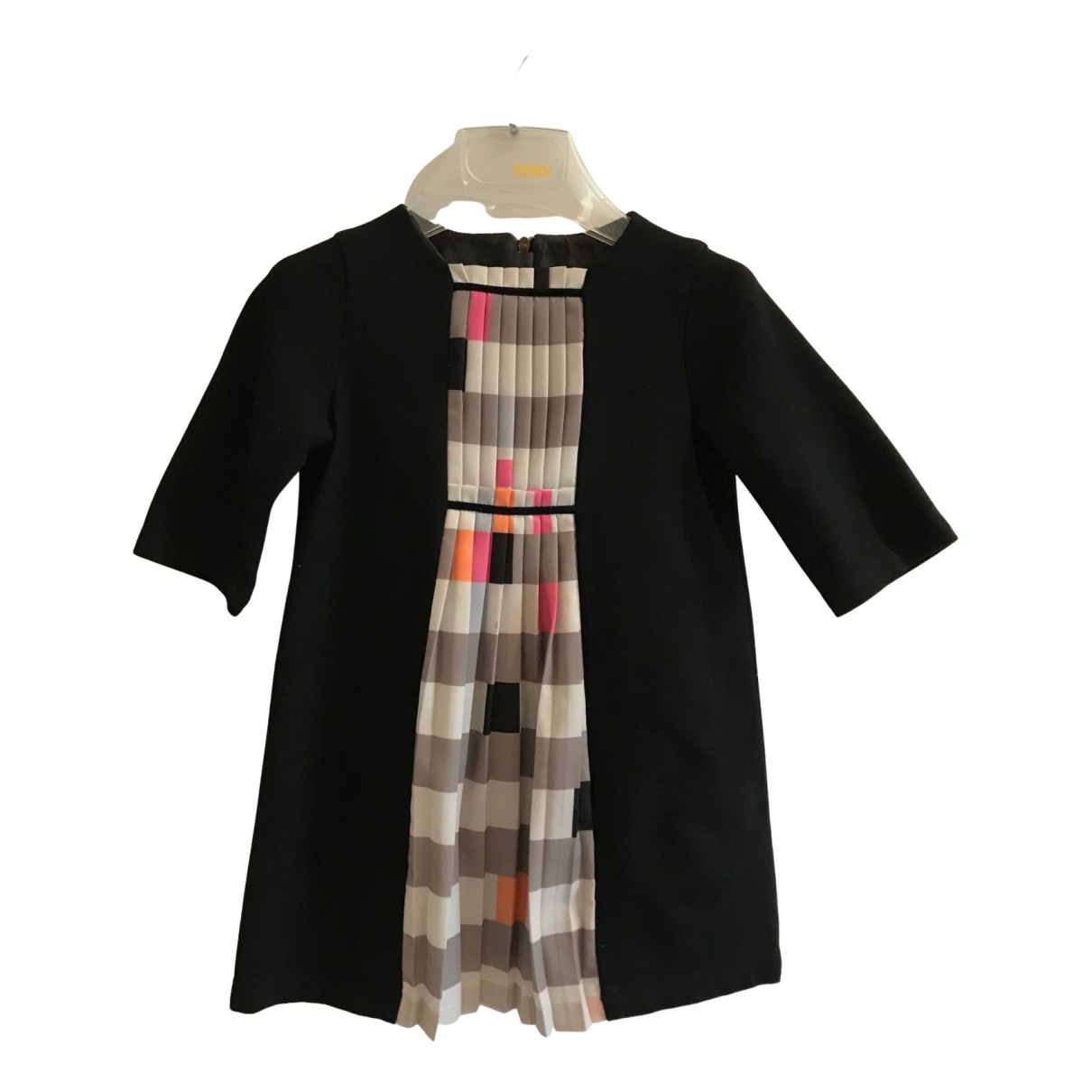 Fendi - Robe    pour enfant en coton - elasthane - noir