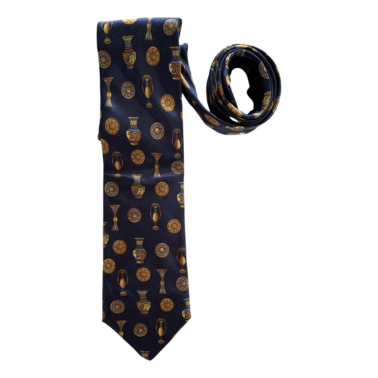 Vionnet \N Krawatten in  Marine Seide