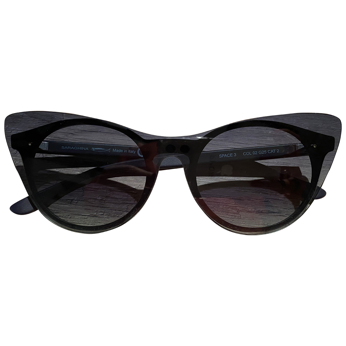 Non Signé / Unsigned N Black Sunglasses for Women N