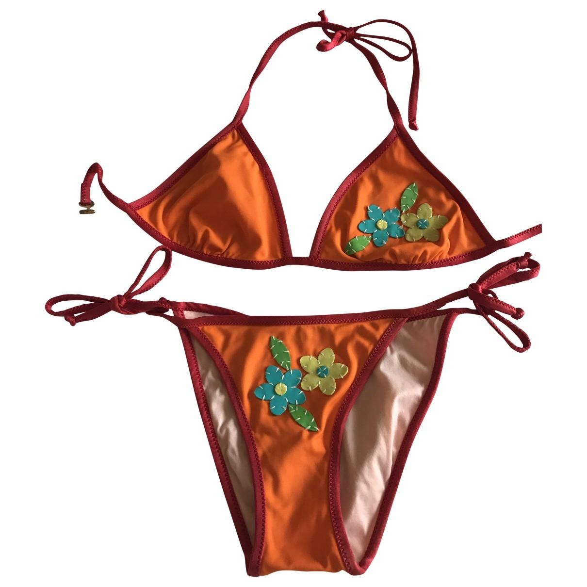 Moschino - Bain   pour femme - orange