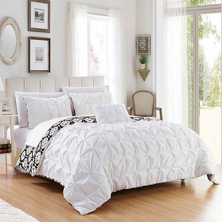Chic Home Zissel Duvet Set, One Size , White