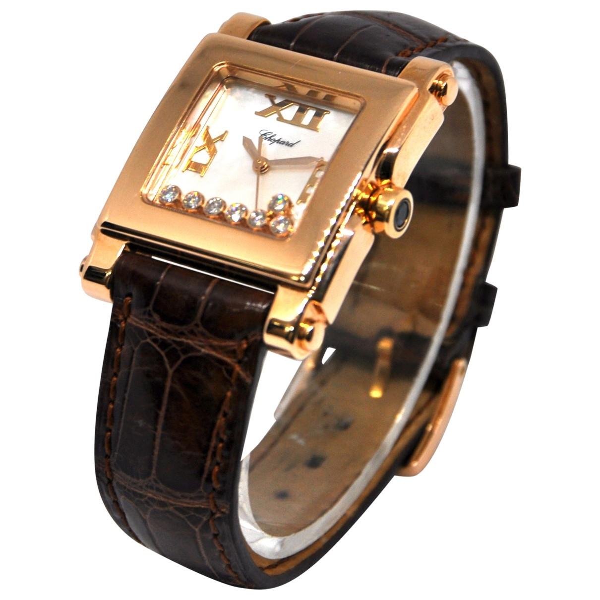 Chopard Happy Sport Pink gold watch for Women \N