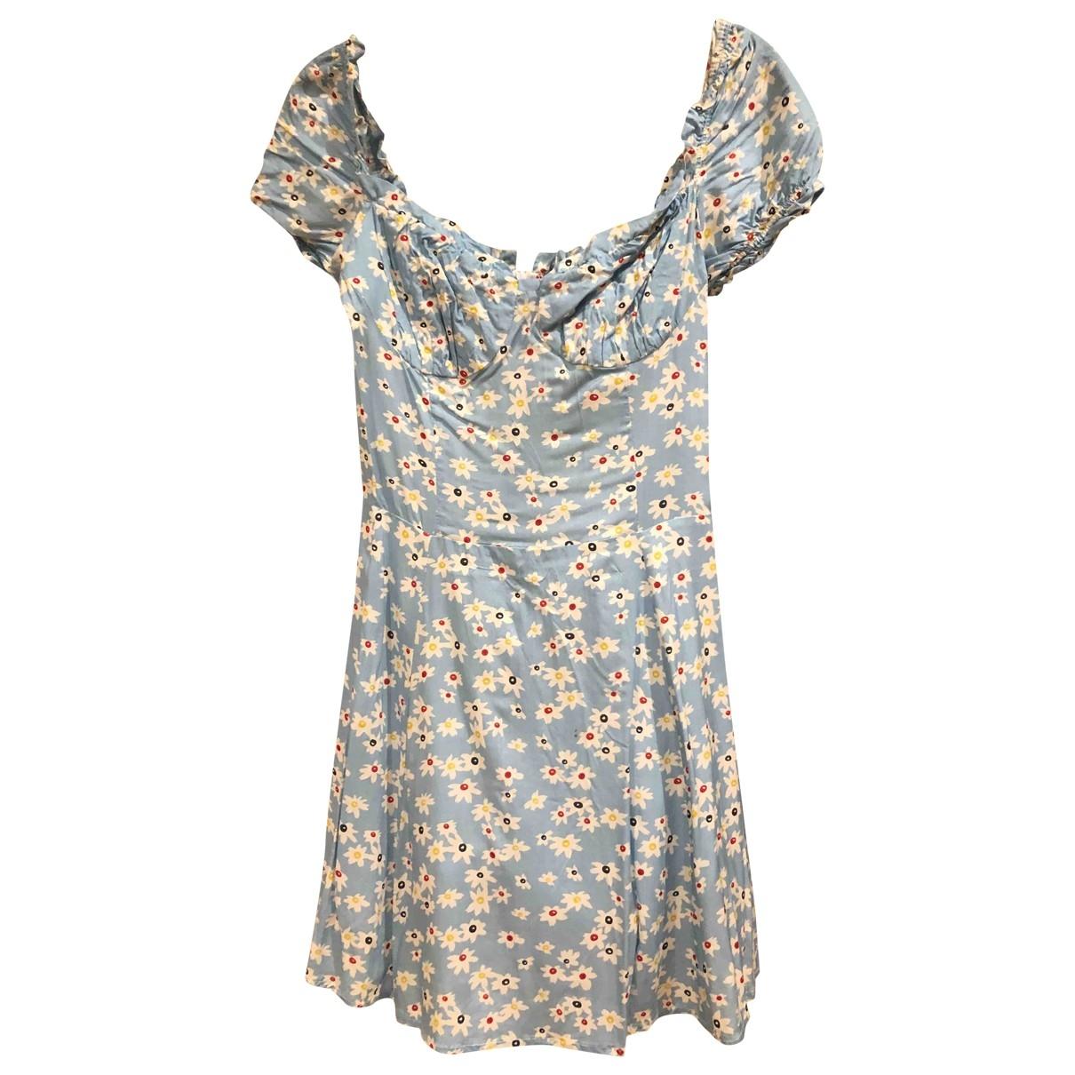 Musier - Robe   pour femme - bleu