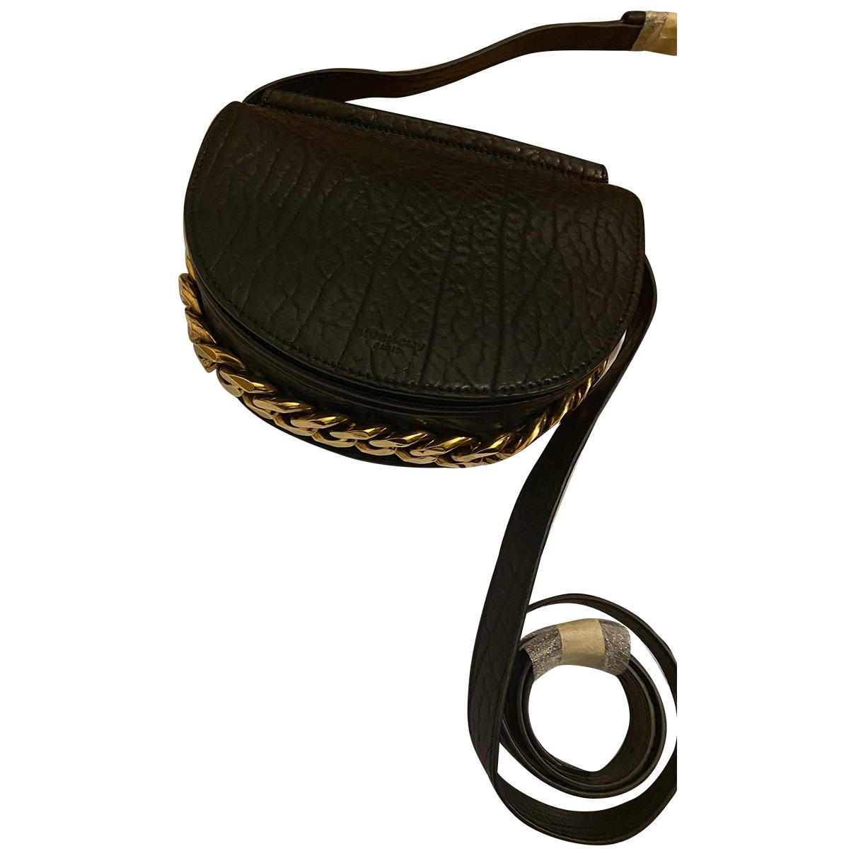 Givenchy Infinity Black Leather handbag for Women N