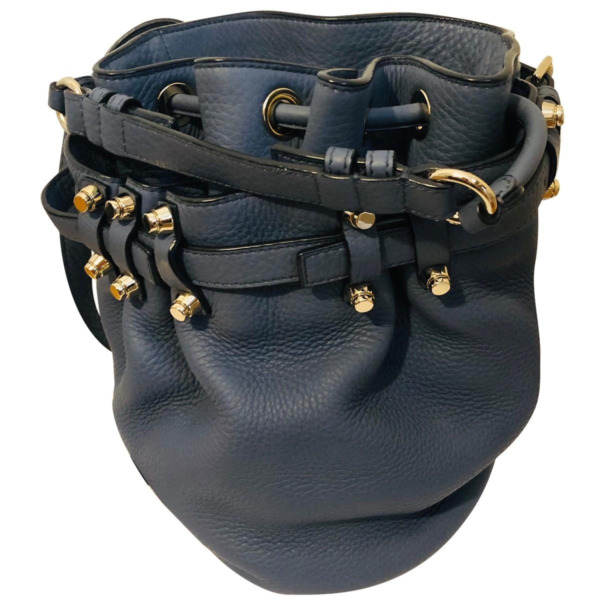 Alexander Wang Diego Blue Leather handbag for Women \N