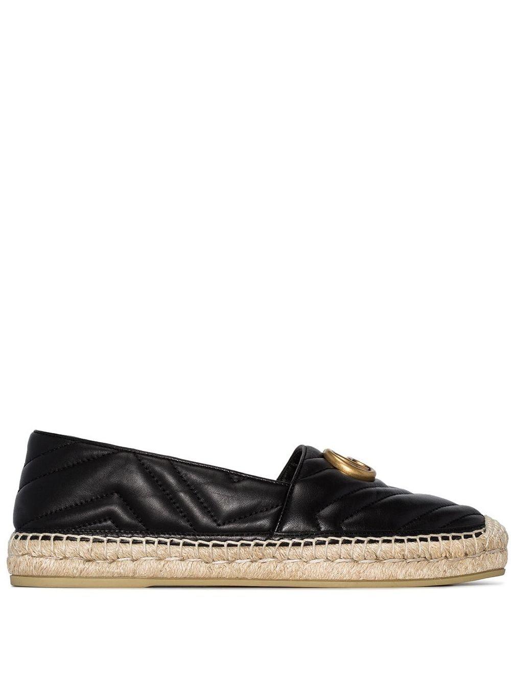 Leather Espadrillas