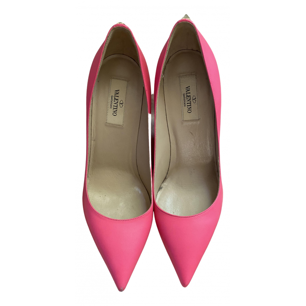 Valentino Garavani Rockstud Leather Heels for Women 39 EU