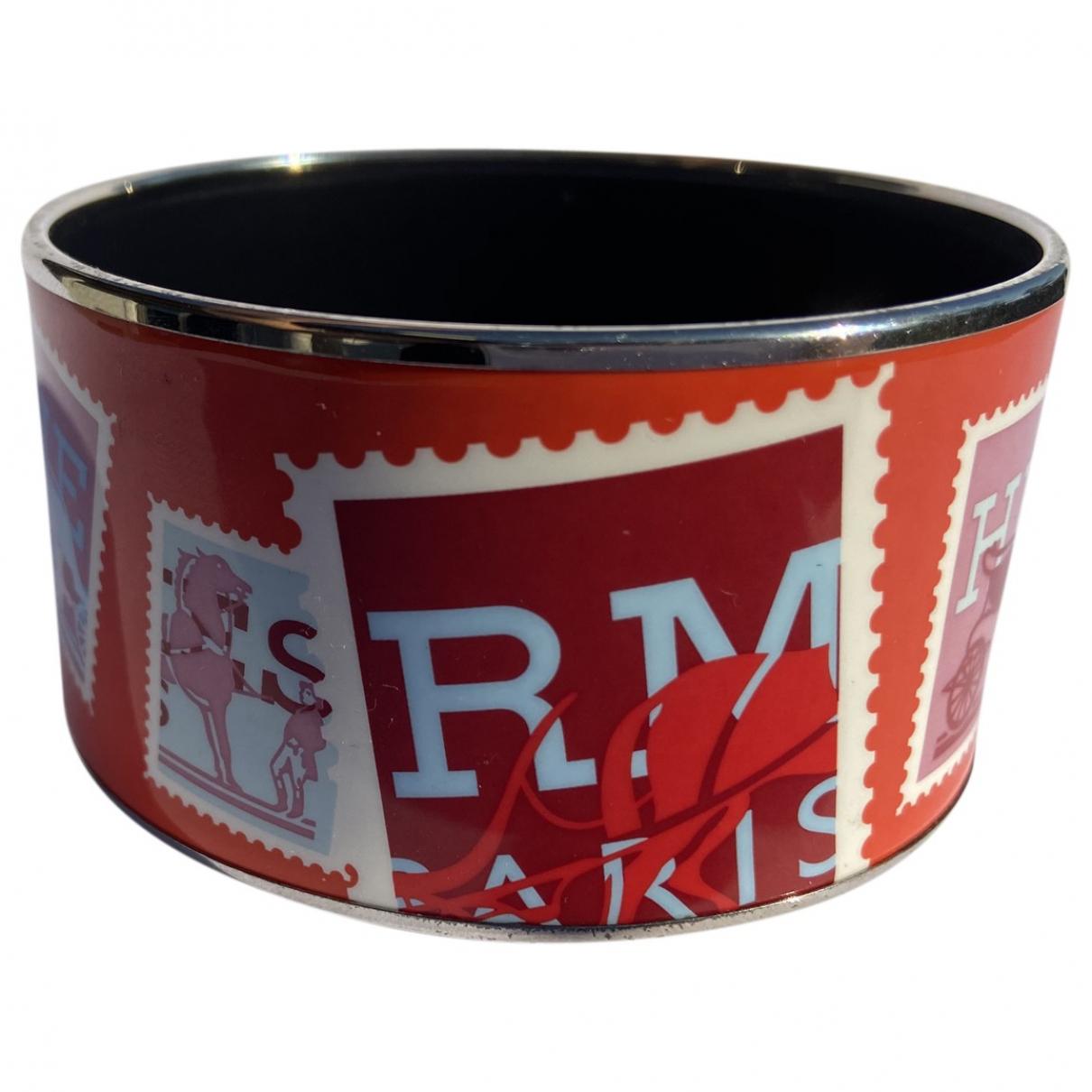 Hermès \N Red Metal bracelet for Women \N