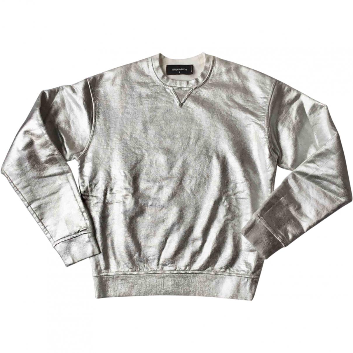 Dsquared2 \N Silver Cotton Knitwear for Women M International