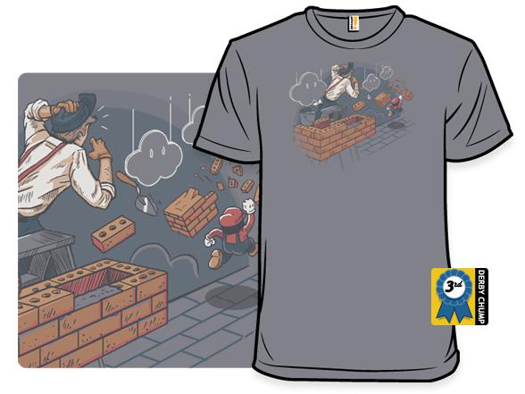 Toadstool Construction T Shirt