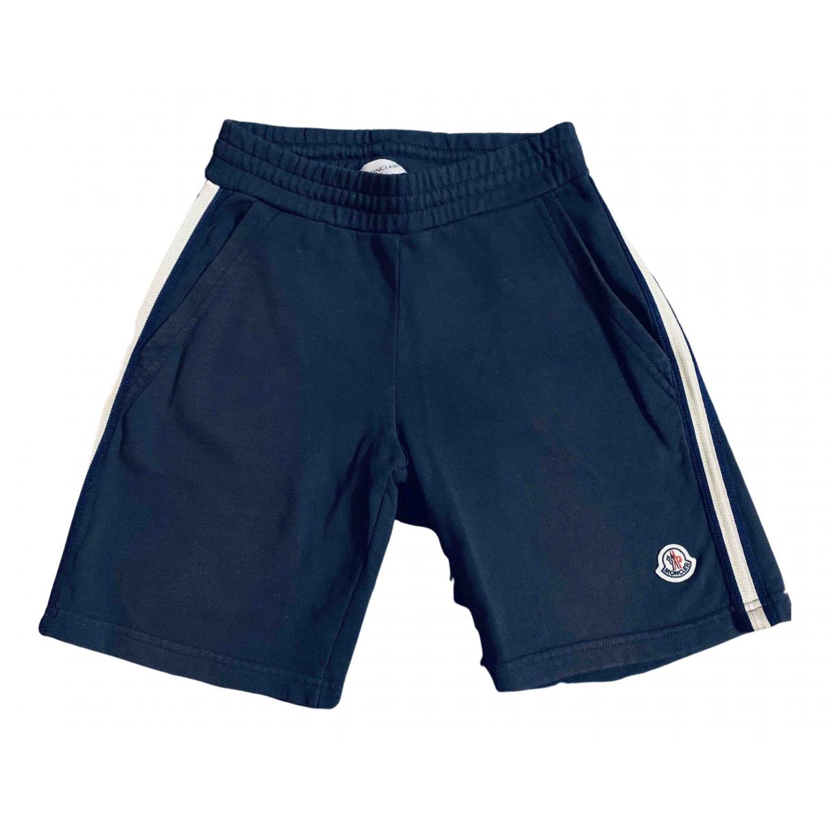 Moncler \N Shorts in  Blau Baumwolle