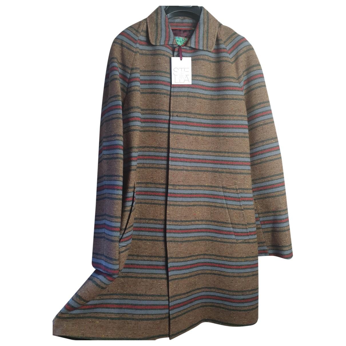 Stella Jean \N Multicolour Wool coat for Women 50 IT
