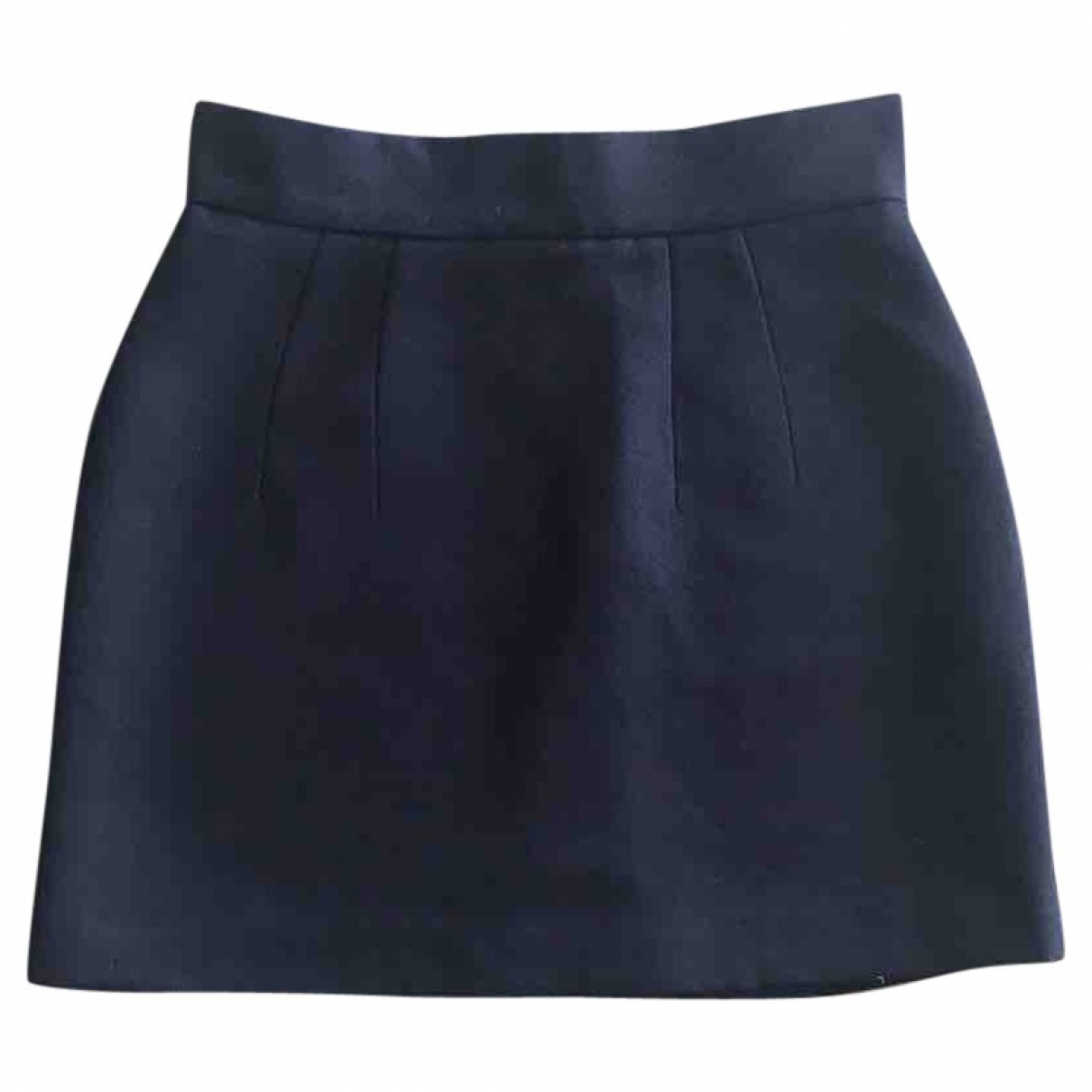Zara \N Navy skirt for Women XS International