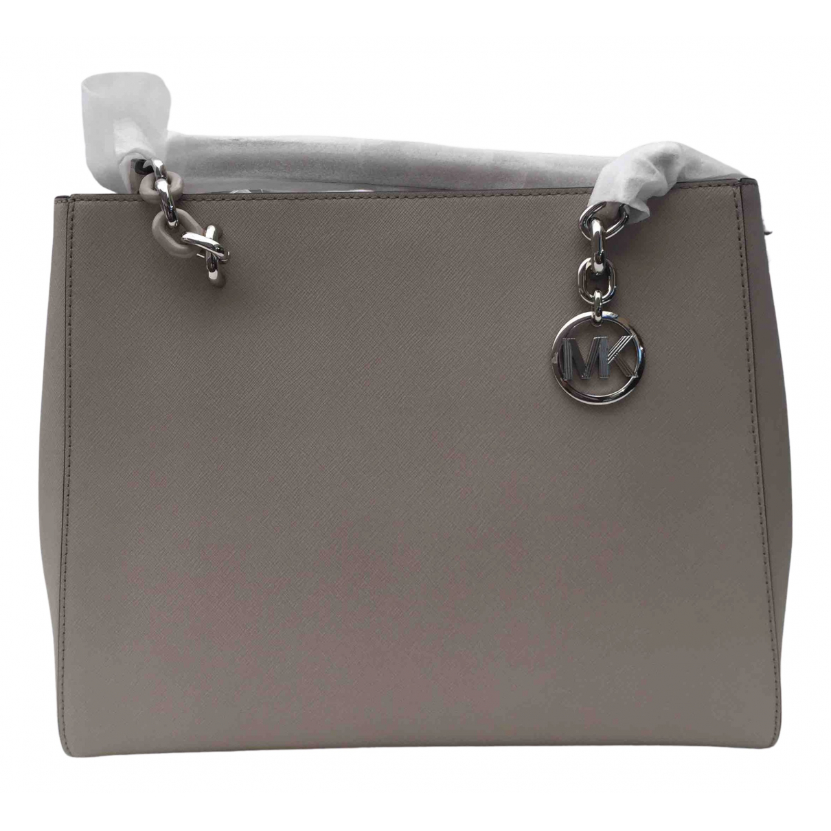 Michael Kors \N Handtasche in  Grau Leder